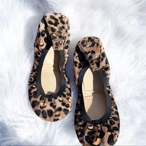 Yosi Samura   Cheetah Print Ballet Flat Size 9